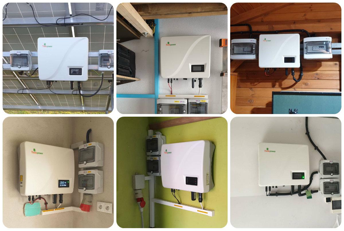 three phase inverter installation